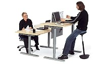 Electric Height Adjustable Standing DesksSit-Stand Desks & Tables