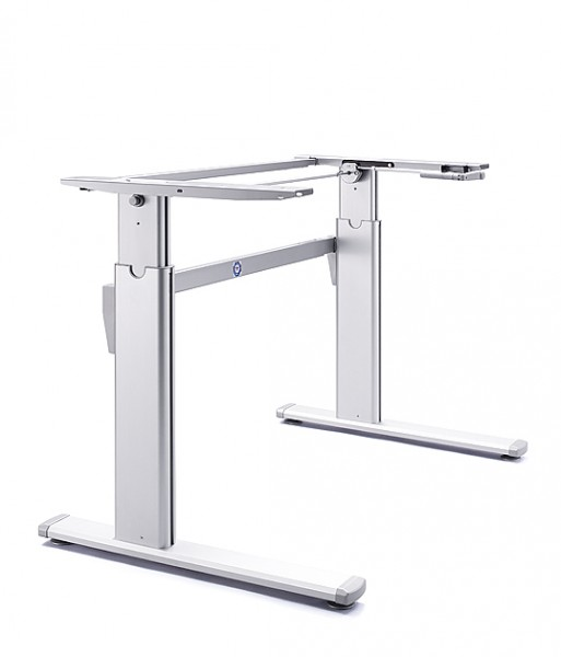 Height Adjustable | Standing Desk Frame | Winding Manual Handle | Height Adjustable