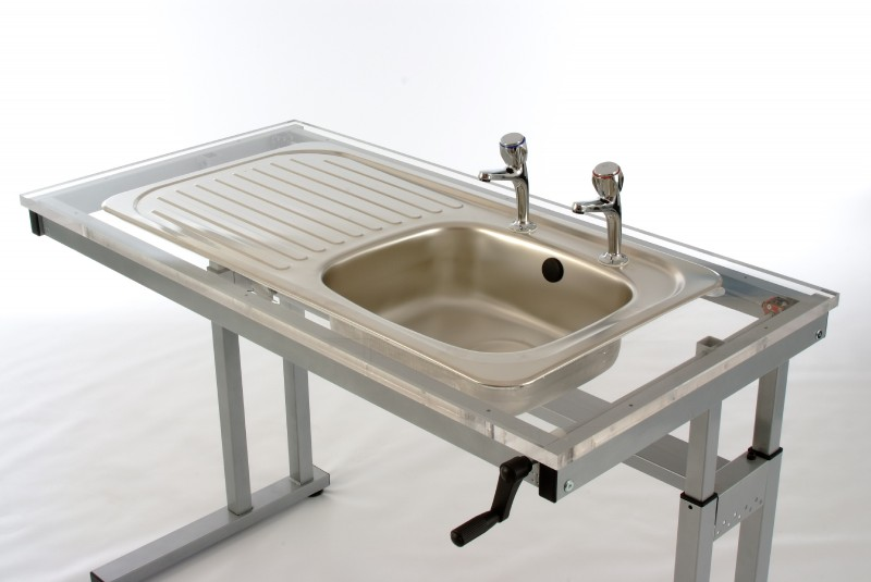 Height Adjustable Sink Frames | Hob & Sink | Wheelchair Inclusive