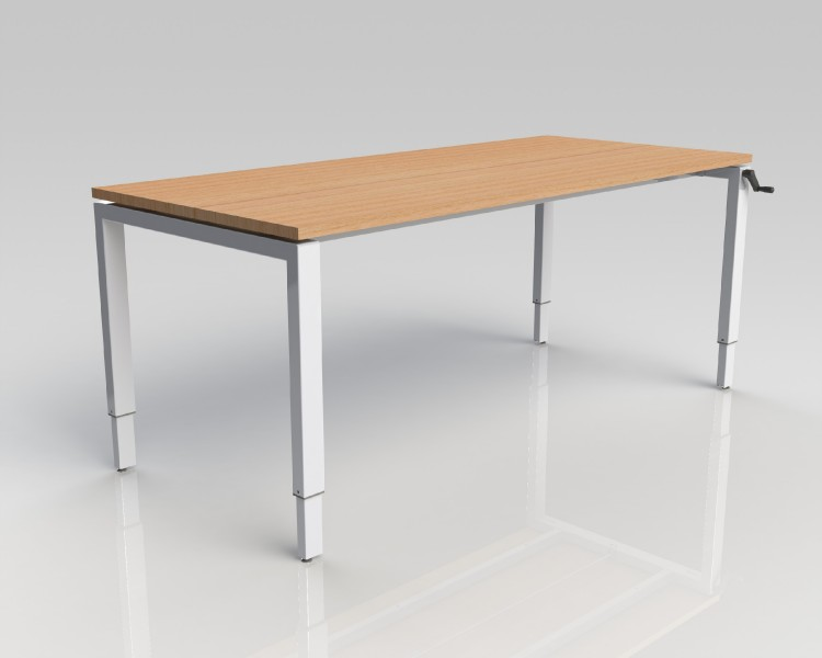 4 Leg Height Adjustable Table Frames Wheelchair Inclusive