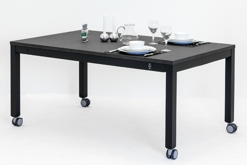 4 Single 4 Leg Electric Height Adjustable Table