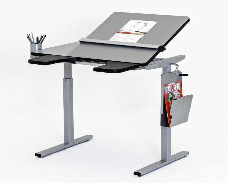 Ropox Ergo Height Adjustable Table | Tilting Top Option | Wheelchair Access