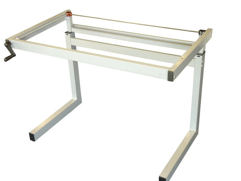 Height Height Adjustable Desk Frames | Winding Handle | Manuel | 600mm deep