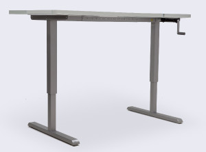 Height Adjustable Table | Winding Handle | No Crossbar | Zenon | Special Offer | Free UK Delivery | Wheelchair Accessable