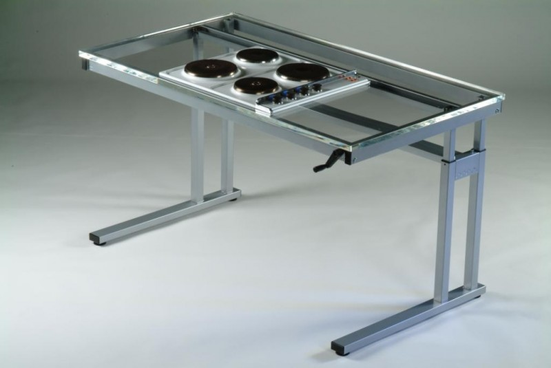 MechMode Height Adjustable Frames for Hob & Sink | Wheelchair Inclusive