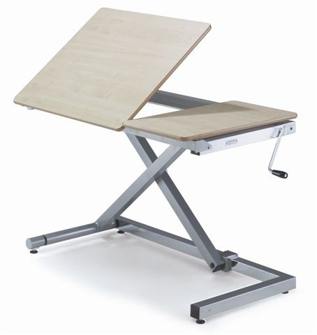 OSG Tilting Top Variable Height Tables