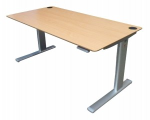 Standing Desk | Height Adjustable | Winding Handle | Sit Stand | Guaranteed
