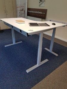 Standing Desk | Corner Top Style | Height Adjustable | Sit Stand | 5 Year Guarantee