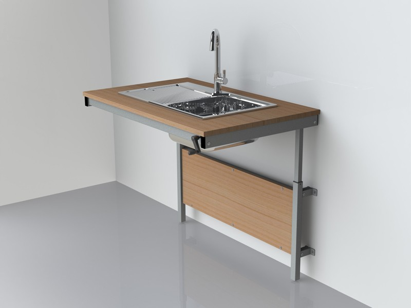 Height Adjustable Sink Frames Electric Wall Mountable ...
